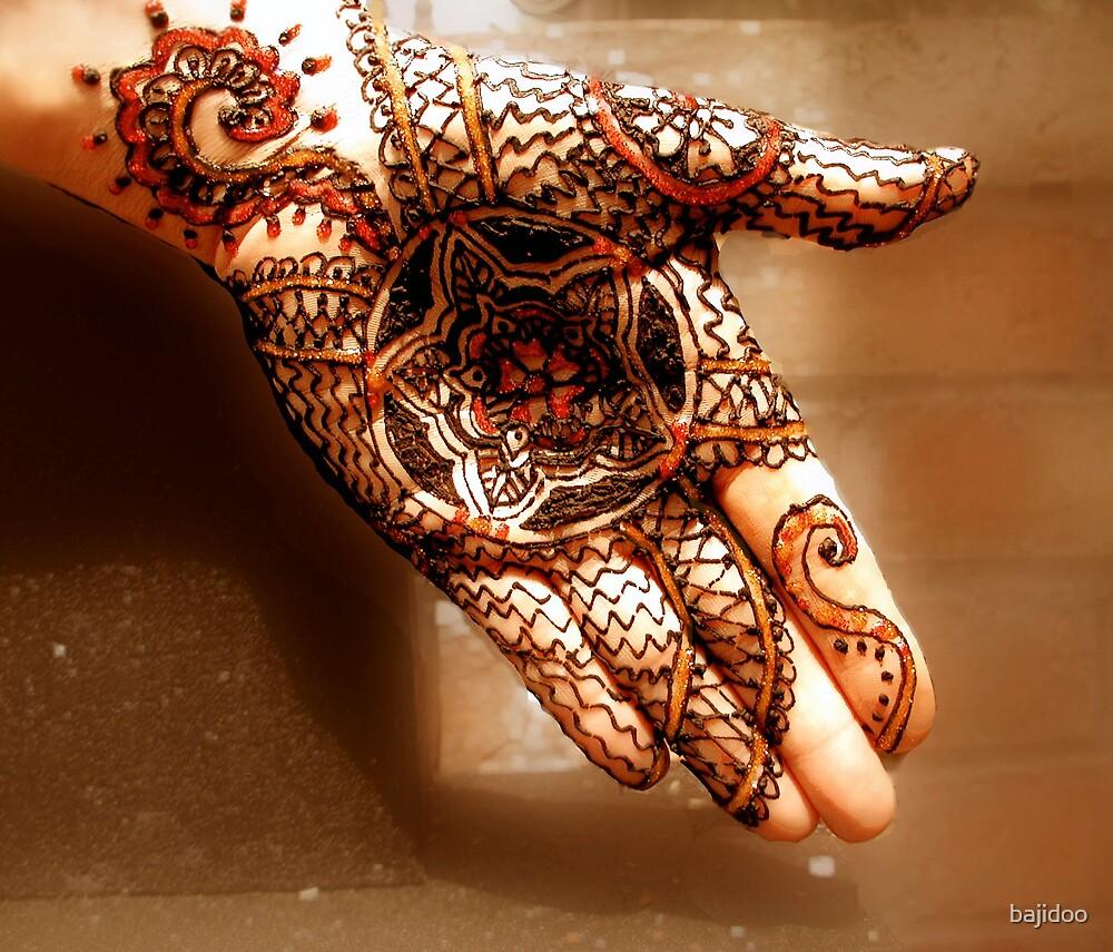 Henna Mandala von bajidoo