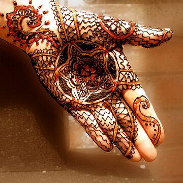 Henna Mandala by bajidoo