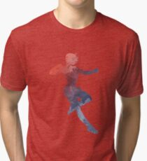 Captain Inspired Silhouette Tri-blend T-Shirt