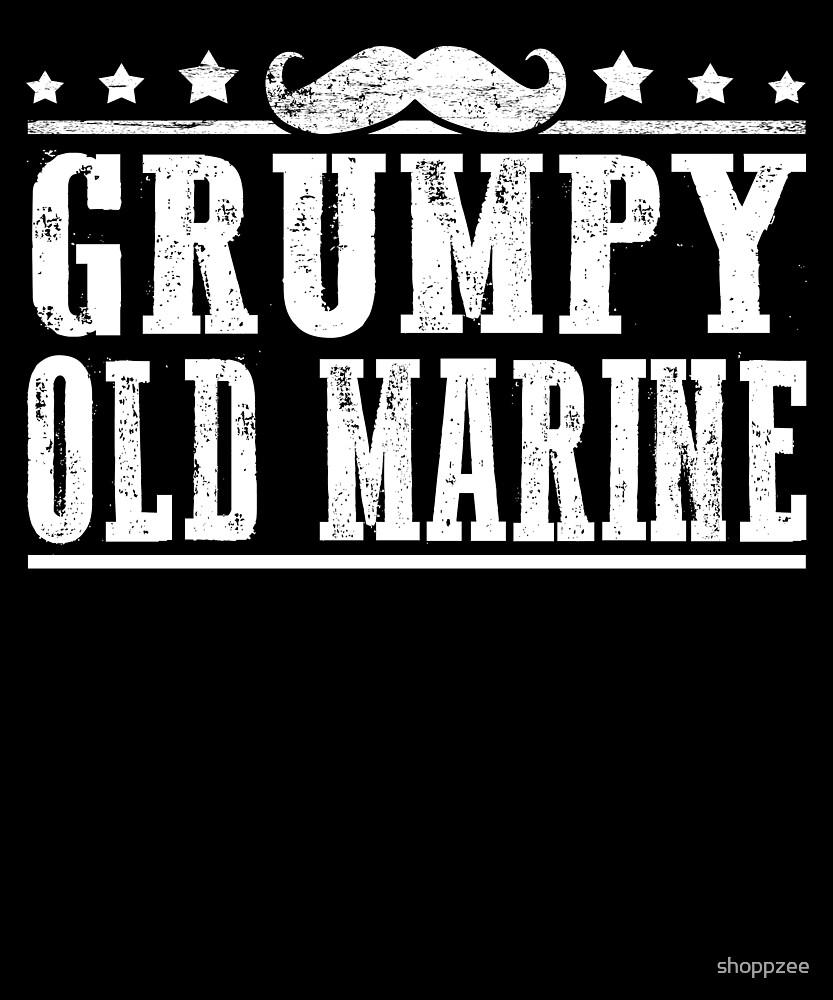 Grumpy Old Marine Grandpa Gifts Grandfather Gifts by shoppzee