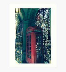 London Is calling Art Print