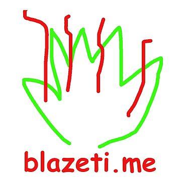 blazetikme logo by blazetime