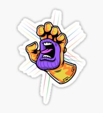 Screaming Gauntlet Sticker