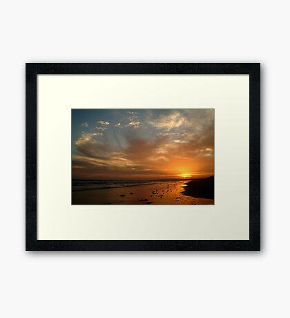 Pt Impossible Torquay, Great Ocean Road Framed Print