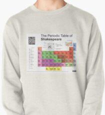 Periodensystem von Shakespeare [alte Version] Sweatshirt