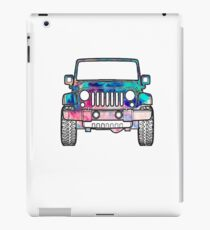 Watercolor Jeep iPad Case/Skin