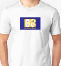 Flag of Huntington Beach  Unisex T-Shirt