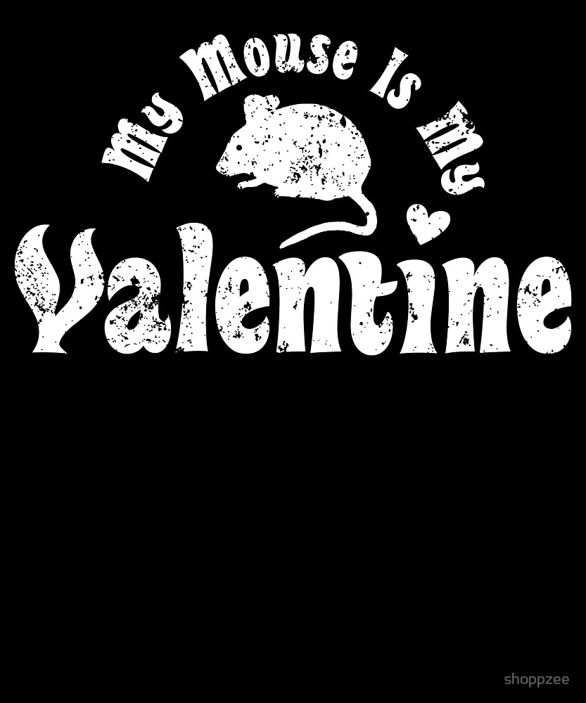 My Anti Valentine Pet Mouse Zoology Zoologist by shoppzee