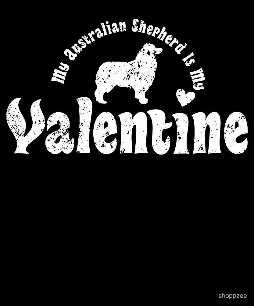 My Anti Valentine Australian Shepherd by shoppzee