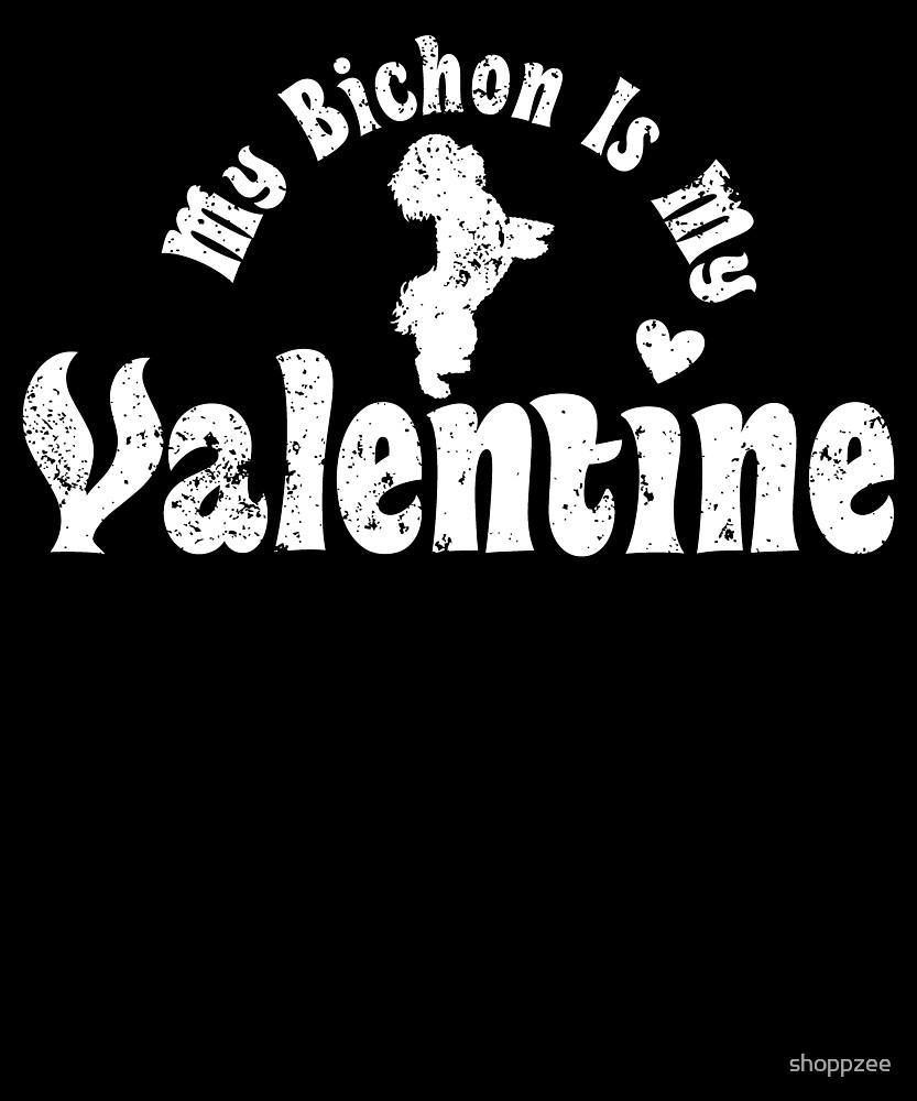 My Anti Valentine Bichon Friese by shoppzee