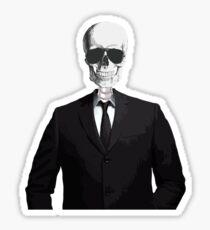 Skeleton Suit Sticker