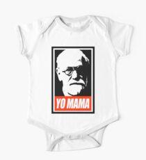 Sigmund Freud Yo MaMa One Piece - Short Sleeve