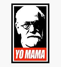 Beautiful Sigmund Freud Yo MaMa Photographic Print
