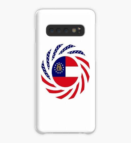 Georgian Murican Patriot Flag Series Case/Skin for Samsung Galaxy