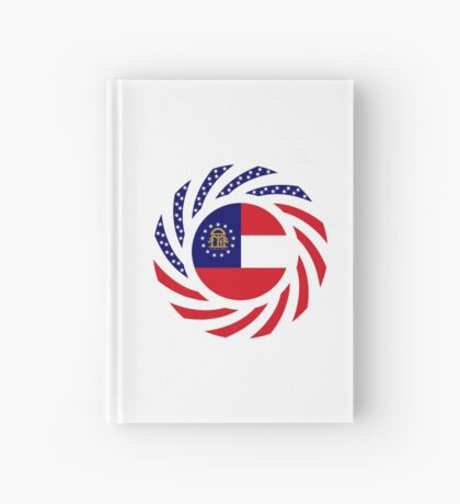 Georgian Murican Patriot Flag Series Hardcover Journal