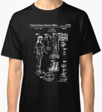 Barbie Doll Patent White Classic T-Shirt