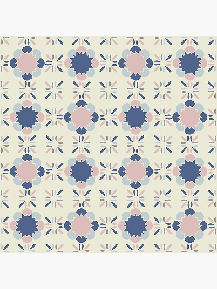 Pastel Tile  by caligrafica