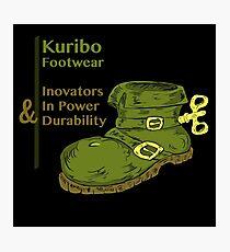 Kuribo Footwear Photographic Print
