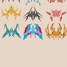 The 9 Blades Armada by drakenwrath
