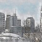 Nashville Skyline by mrthink