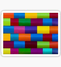 Colorful seamless Pattern - 7032 x 5274 px, 300 dpi Sticker
