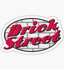 Brick Street Bar and Grill Miami Oxford Sticker