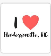 Hendersonville Sticker