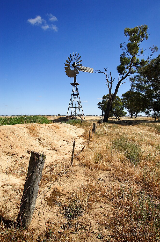 Windmill at Cobram by Darren Stones