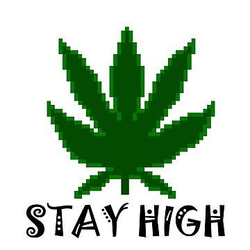 Stay high 8 bit by KrAyZiEBOOY