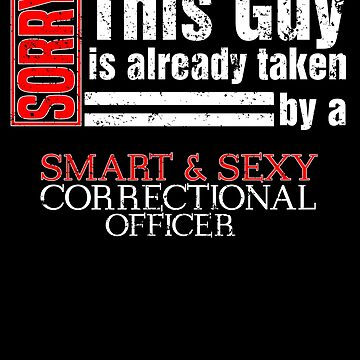Valentines Day Correctional Officer Valentines Valintine by shoppzee