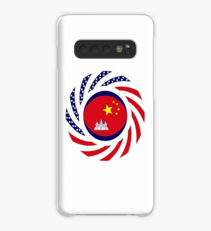 Chinese/Cambodian American Multinational Patriot Flag Series Case/Skin for Samsung Galaxy