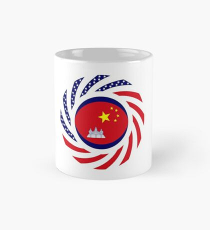 Chinese/Cambodian American Multinational Patriot Flag Series Mug