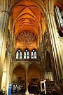 Arches and Windows Truro Cathedral UK by DonDavisUK