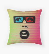 Color Chaos Collection -- 3D Throw Pillow