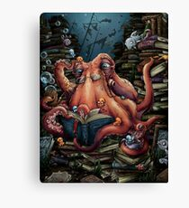 Grandpa Octopus Canvas Print
