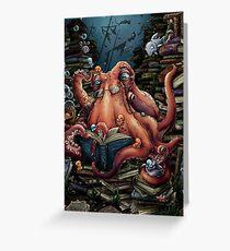 Grandpa Octopus Greeting Card