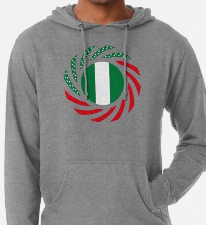 Nigerian American Multinational Patriot Flag Series Lightweight Hoodie
