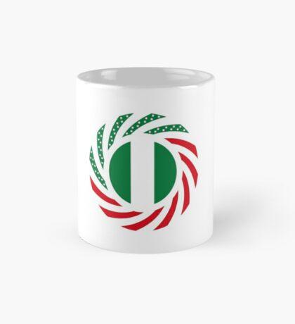 Nigerian American Multinational Patriot Flag Series Mug