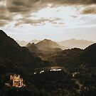 Hohenschwangau castle in Germany by Salvatore Russolillo