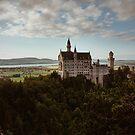 Neuschwanstein Castle in Germany  by Salvatore Russolillo