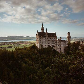 Neuschwanstein Castle in Germany  by salvatoreru