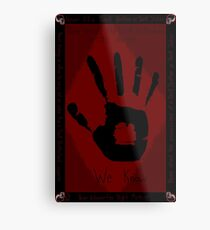 Dark Brotherhood Metal Print