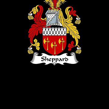 Sheppard Coat of Arms - Family Crest Shirt by FamilyCrest