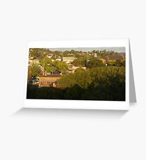 Historical Goldfields town of Castlemaine Greeting Card
