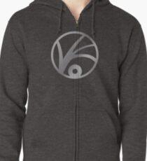 V.F.D. Logo Zipped Hoodie