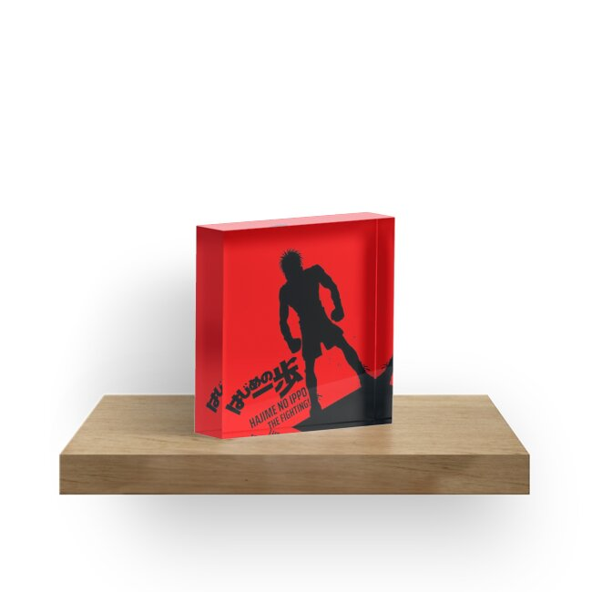 """""""Hajime No Ippo"""" Acrylic Blocks By Terpres"""