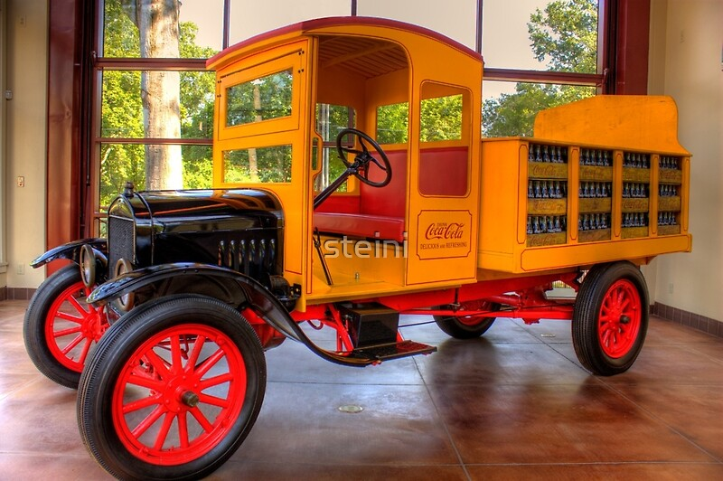Quot Model T Coca Cola Delivery Truck Quot By Steini Redbubble