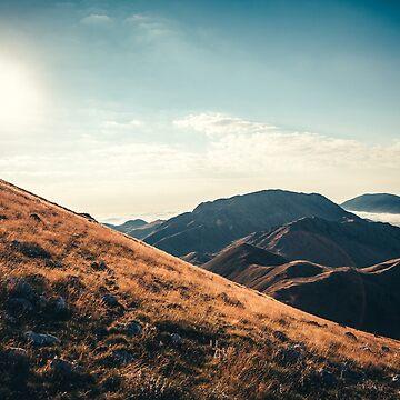 Mountains in the background XXIII by salvatoreru
