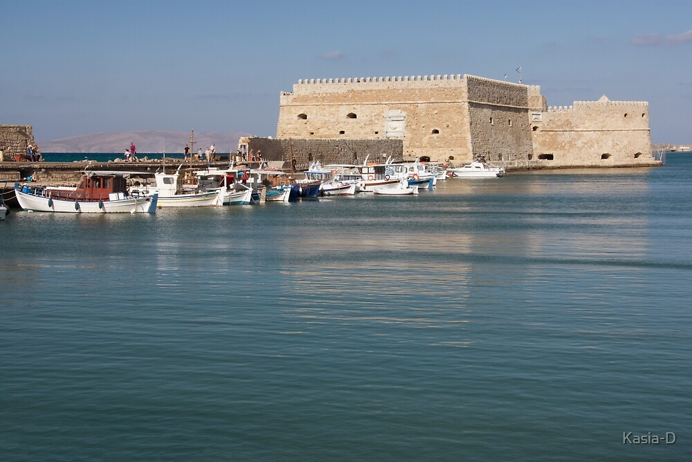 Koules Fortress, Heraklion, Crete by Kasia-D
