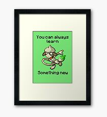Smeargle #235 - You can always learn something new Framed Print